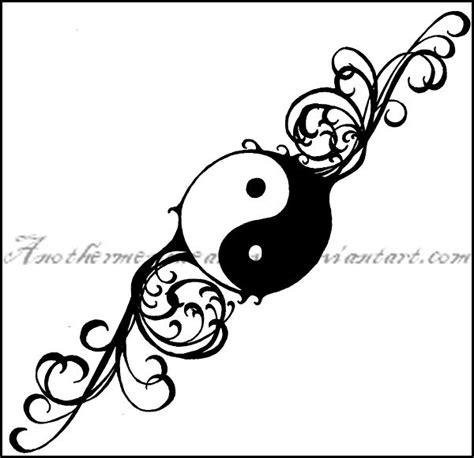 yin yang rose tattoo yin and yang yin yang tattoos designs