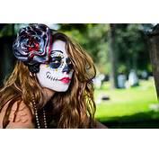 Maquillaje De Halloween O Carnaval – Dia Los Muertos 2