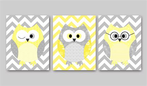 owl decor owls nursery baby nursery decor wall