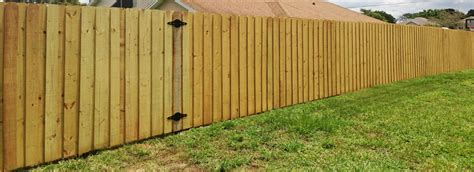 types of backyard fencing wood fence orlando backyard fence inc top rated