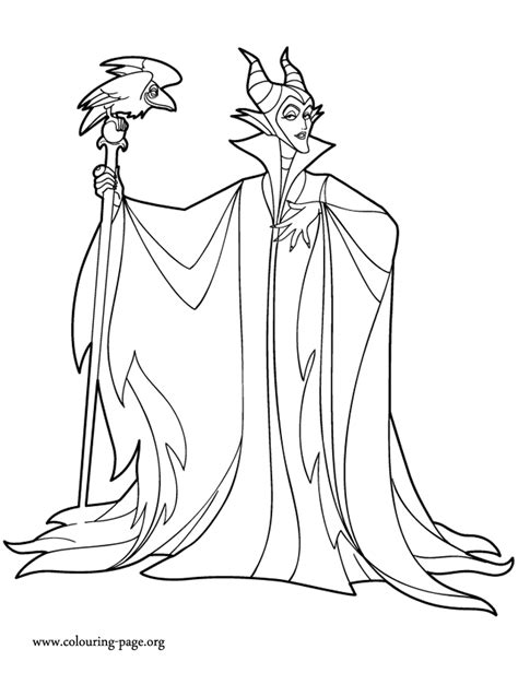 Maleficent Coloring Pages Maleficent Coloring Pages To Download And Print For Free