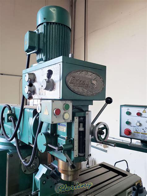 grizzly verticalhorizontal milling machine ram