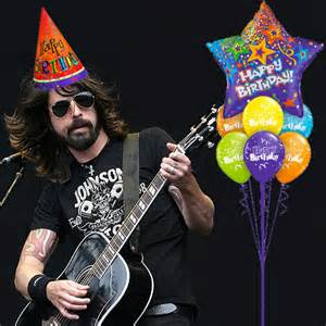 Dave Grohl Birthday Card Pop Culture Odds And Ends Happy Birthday Dave Grohl