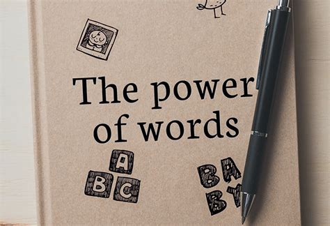 the power of our words language that helps children learn can the power of words help during fertility fertility