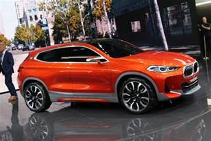 X2 Bmw New Bmw Concept X2 Photos Live From 2016 Auto Show