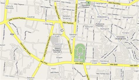 cara mendapat peta jalan kota bandung full dengan google download peta dari google maps menggunakan browser firefox