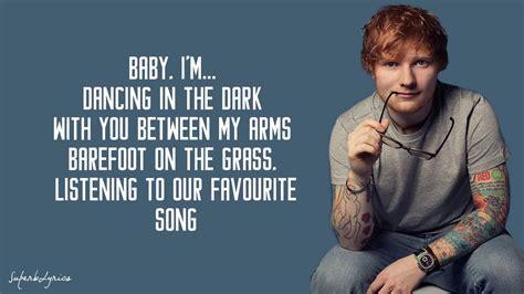 ed sheeran perfect arti ed sheeran perfect lyrics youtube