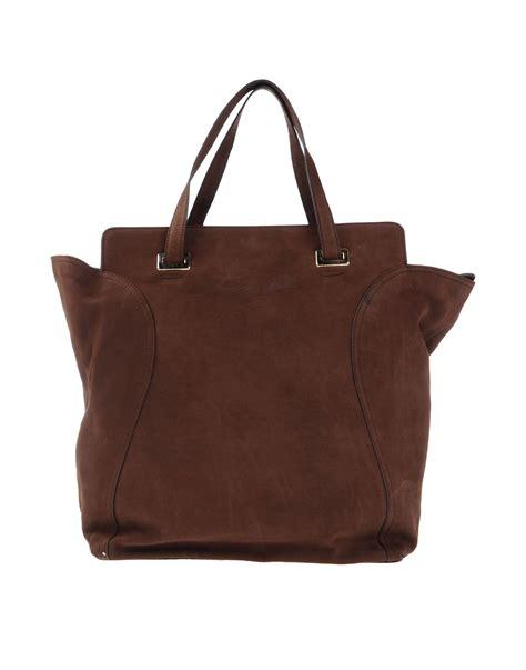 Tote Bag Tosca lyst tosca handbag in brown