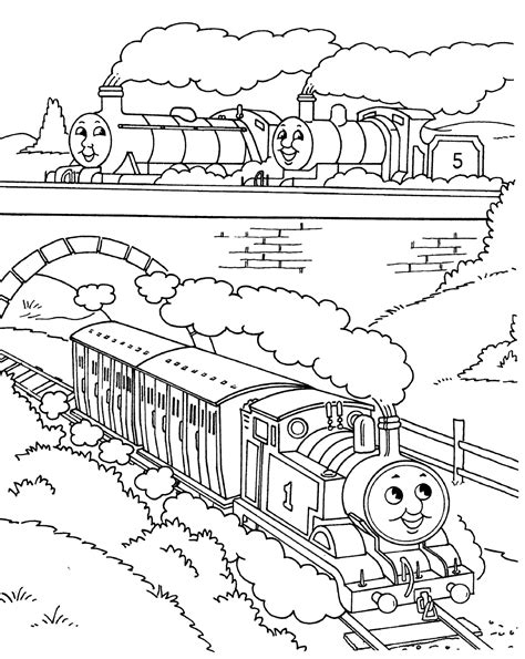 thomas the train coloring pages coloring pages