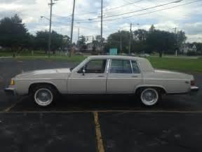 1983 Buick Electra Park Avenue 1983 Buick Electra Park Avenue Sedan 4 Door 5 0l No