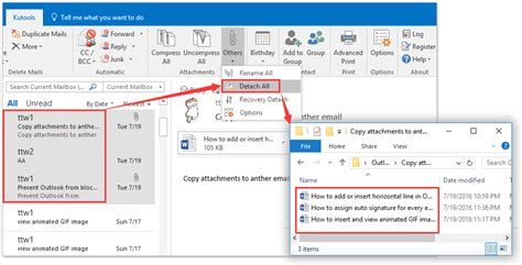 Outlook Search For Emails With Attachments How To Open Outlook Email In Excel Mail Merge Master