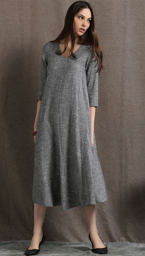 Forgoes Black And Grey For Once by 1000 Ideas About Grey Midi Dress On Midi