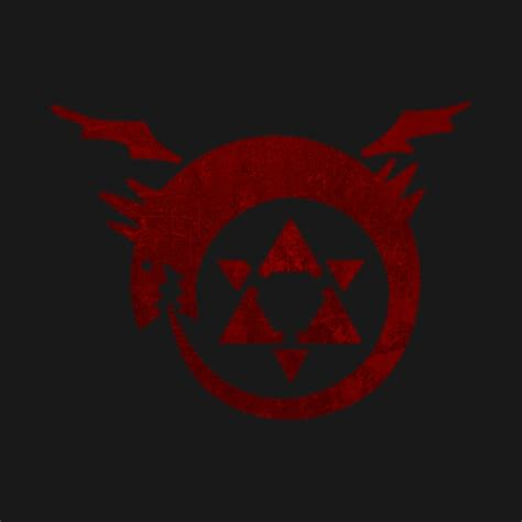 Kaos Fullmetal Alchemist Logo 1 fullmetal alchemist logo www pixshark images