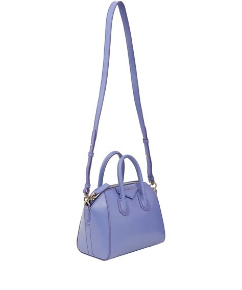 light blue givenchy bag givenchy small light blue antigona leather bag in blue lyst