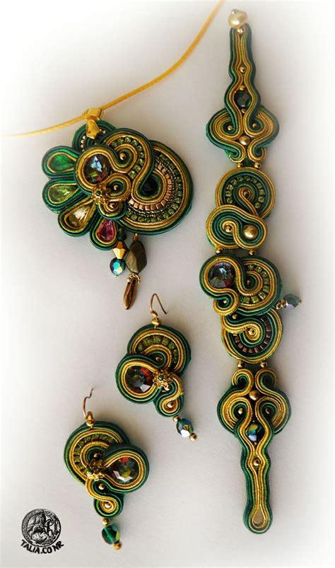Pendant Bros Bulu Merak Embroidery 670 best jewelry soutache inspiration images on
