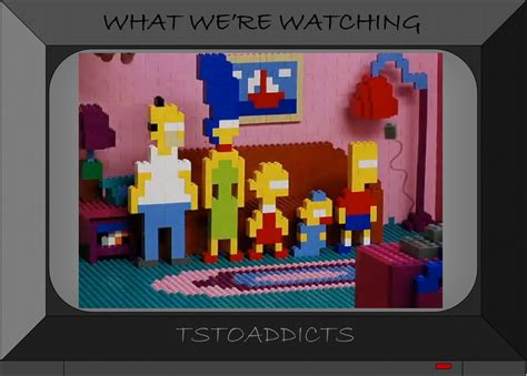 lego simpsons couch silly simpsons more legos and a topical extrathe simpsons