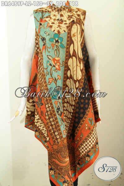 Dress Batik Terusan baju dress batik istimewa pakaian batik terusan