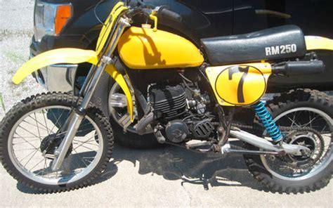 1978 Suzuki Rm 250 1978 1 2 Suzuki Rm250 Oh Floater Suzuki Rm