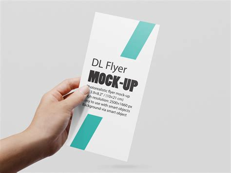 design dl flyer dl flyer mockup by diephay dribbble