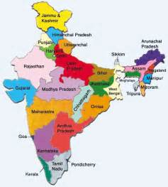 India On The Map by Maps Of Protected Areas In India