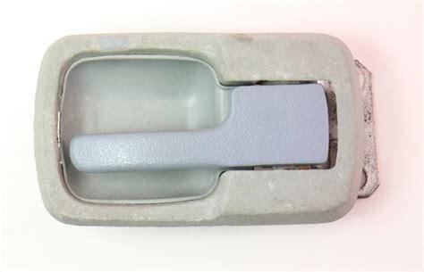 lh grey interior door pull handle vw jetta rabbit caddy mk vanagon