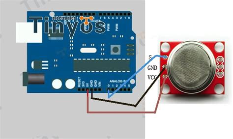 Soket Sensor Seri Mq 6 Pin hydrogen gas sensor mq 8 module from tronixlabs australia
