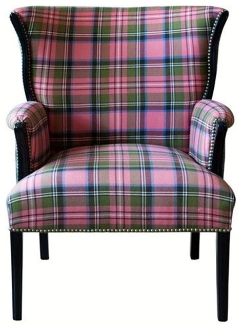 Pink Tartan Armchair I Ve Always Been Mad For Plaid And I The Color Of