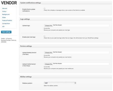 theme wordpress vendor vendor premium wordpress portfolio theme by awesem