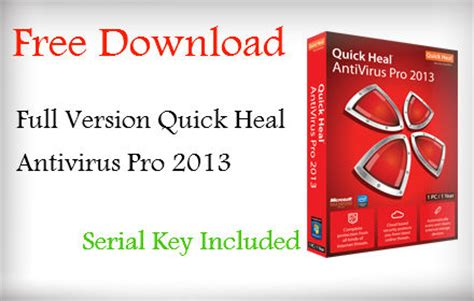 Quick Heal Antivirus Full Version Free Download For Windows 7 With Crack | free antivirus software download full version quick heal