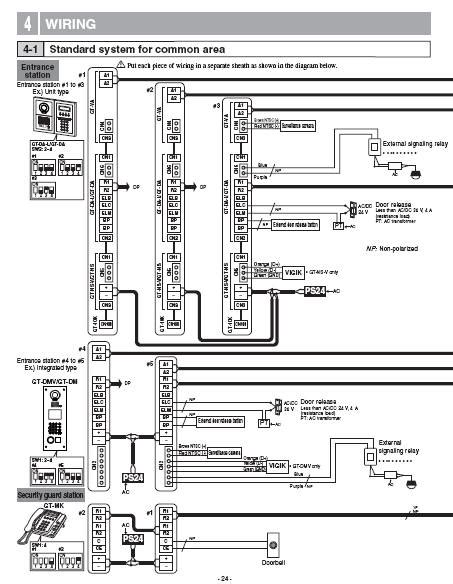 aiphone gt 1c wiring diagram 28 wiring diagram images