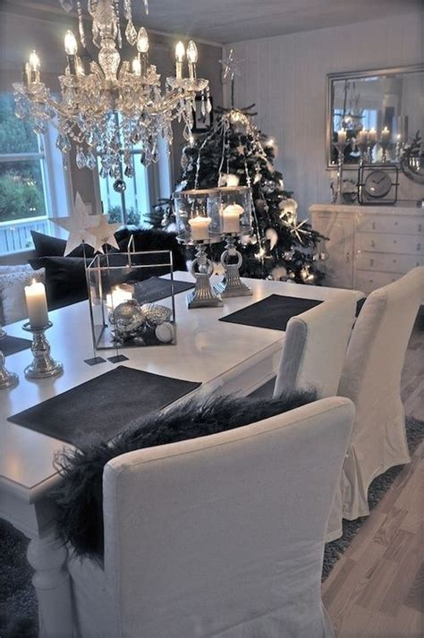 White And Grey Dining Room by 20 Dining Rooms Messagenote