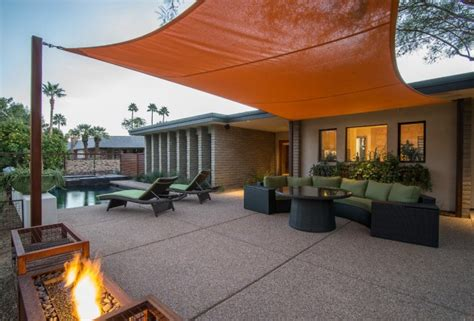 16 Exceptional Mid Century Modern Patio Designs For Your