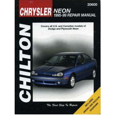 free auto repair manuals 1995 plymouth neon spare parts catalogs chrysler neon 1995 98 sagin workshop car manuals repair books information australia integracar