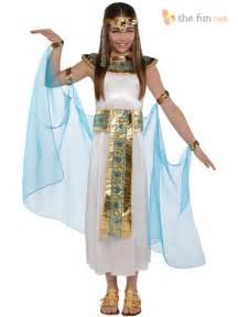 girls egyptian greek queen goddess cleopatra toga fancy