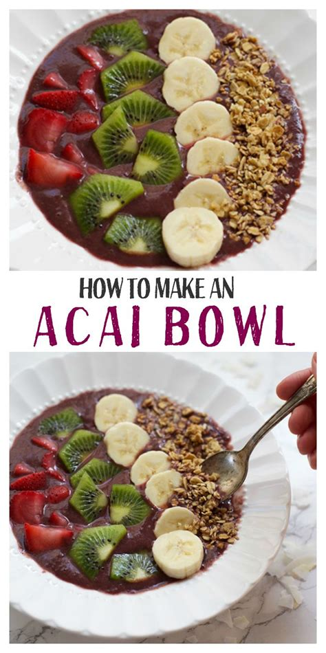 acai bowls recipe vegans home and paleo vegan