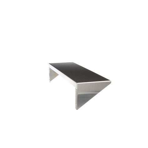 Shelf End Brackets by Stainless Steel Shelf With Integral End Brackets Bradley