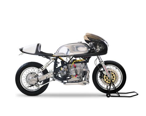 bmw motorcycle cafe racer bmw caf 233 racer by team incomplete silodrome