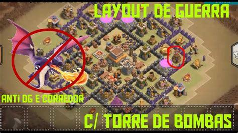youtube layout para guerra cv 8 layout de guerra c torre de bombas cv8 anti hog dg