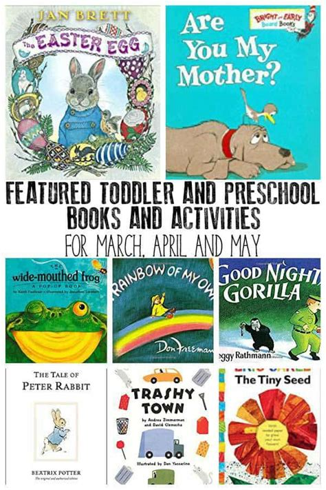 kindergarten themes for april and may virtual book club for kids book list for march april and may