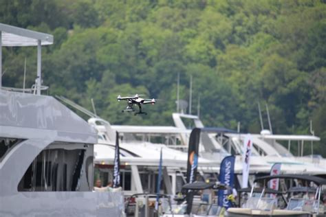 drone with pontoons staying in toon drone toon boating tips and