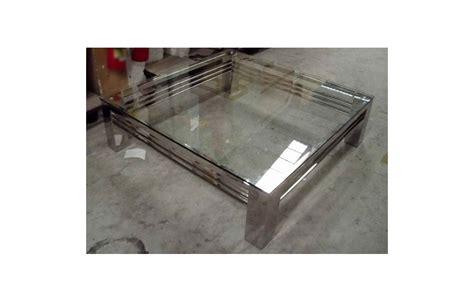 Impressionnant Sol En Verre Transparent #1: table-basse-en-verre-transparent-et-pieds-en-acier-inox-brillant-stella.jpg
