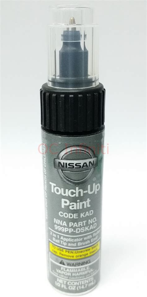 nissan infiniti genuine touch up paint gun metallic code kad ebay