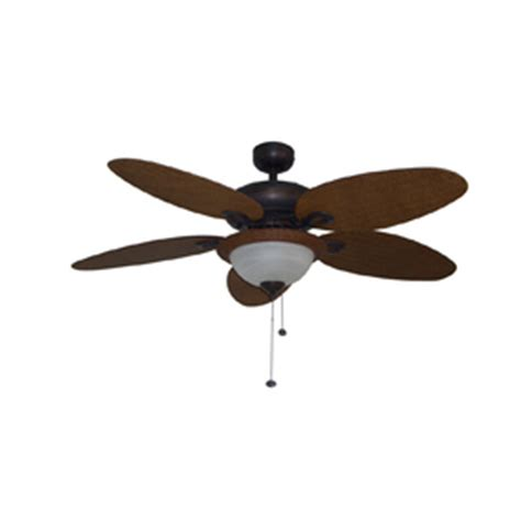 Harbor Outdoor Ceiling Fan by Shop Harbor 52 In Outdoor Ceiling Fan With Light