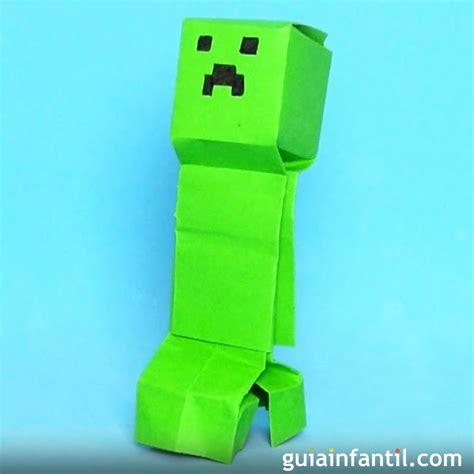 navidad creeper un cuento 1539737551 c 243 mo hacer un creeper de minecraft de origami
