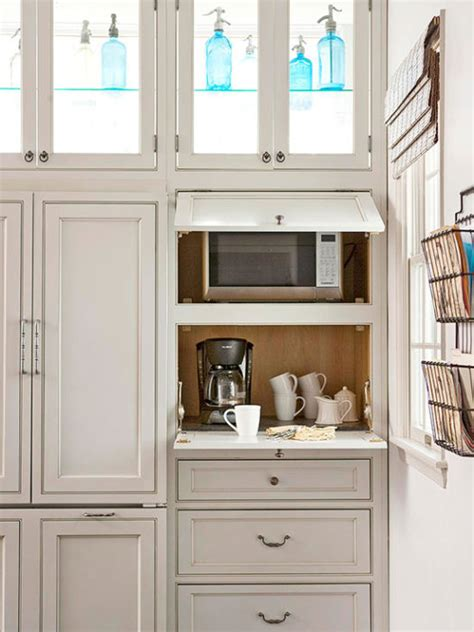 kitchen appliance storage cabinets 40 clever storage ideas for a small kitchen