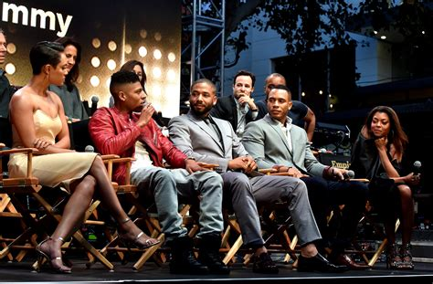 cast of empire hakeem empire is with her watch tv show s cast stand by