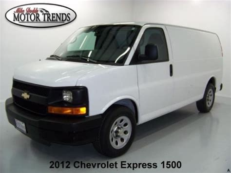 service manual 2012 chevrolet express 1500 how to replace air intake sensor sell used 2012