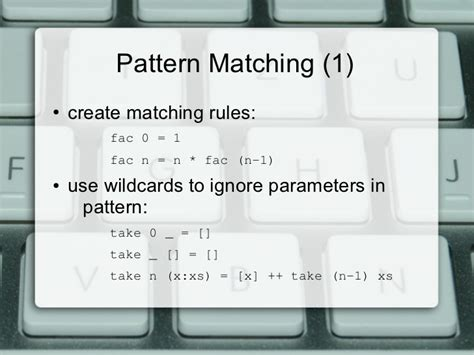 pattern matching list haskell 03 haskell refresher quiz