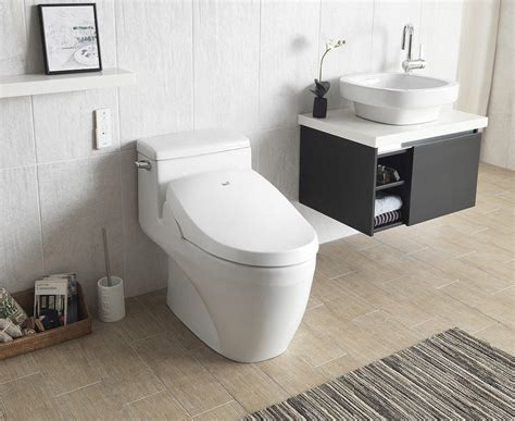 2 In 1 Toilet And Bidet by Bio Bidet A8 Serenity Bidet Toilet Seat