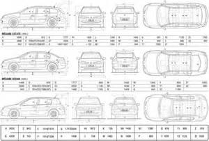 Renault Megane 2 Dimensions Renault Megane Ii Diesel